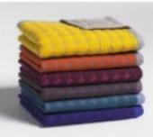 håndklæder med farver