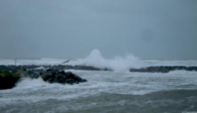 stormvejr ved Grenå