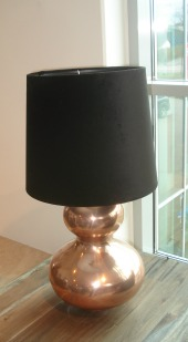 kobberlampe